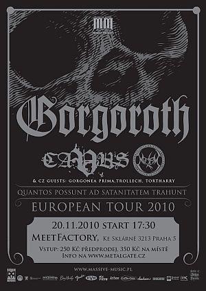 Gorgoroth 2010 poster