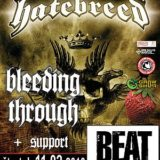 Hatebreed, Bleeding Through, Beautiful Cafillery