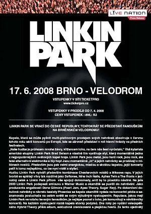 Linkin Park poster 2008