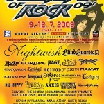 Masters of Rock 2009 poster