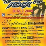 Masters of Rock 2009 (čtvrtek, pátek)