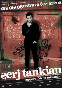 Serj Tankian poster 2008