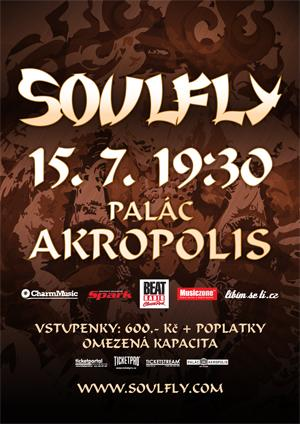 Soulfly poster 2009