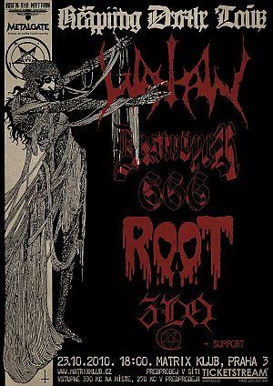 Watain poster 2010
