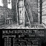 "BLACKDEATH ""Winter plaguing gift"" European tour jan/feb 2016 with special guest CULTUS"