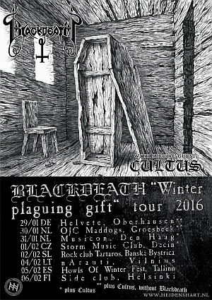 Blackdeath, Cultus tour