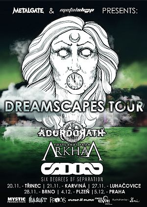 Dreamscapes Tour 2015 poster