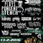 Guttural Gore Grind Mafia festival #8 – Ostrava, 13. února