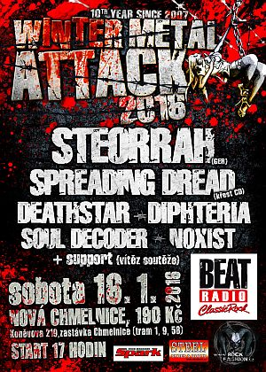 Winter Metal Attack 2016 poster