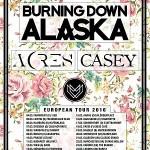 Post-hardcoroví Burning Down Alaska zahrají na Sedmičce