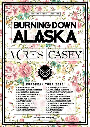 Burning Down Alaska poster 2016