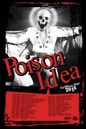 Poison Idea poster 2016