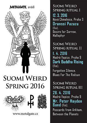 Suomi Weird Spring 2016 poster