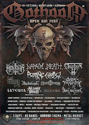 Gothoom Open Air 2016 poster
