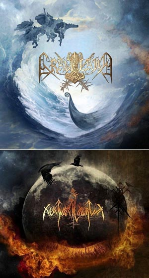 Nokturnal Mortum / Graveland - The Spirit Never Dies