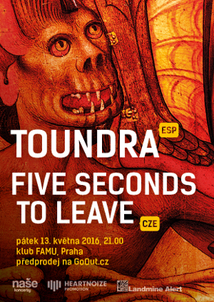 Toundra a Five Seconds to Leave