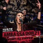 AMBASSADOR21 /blr & V0NT ~ dj ZIPPER < 12.5. > Anděl Music bar, Plzeň, CZ