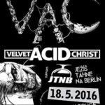 Cyberpunkový vizionář Velvet Acid Christ přijede poprvé kázat do ČR