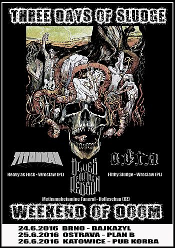 Three Days of Sludge poster 2016