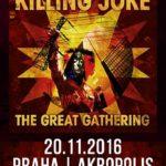 Killing Joke v listopadu v Praze!