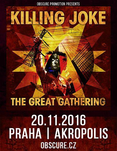 Killing Joke poster 2016
