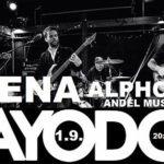 KAYO DOT /us & VEENA & Alphones ★ 1.9. ★ Anděl Music bar, Plzeň