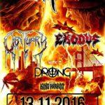 Obituary, Exodus a Prong! Vražedný lineup se prožene Ostravou!