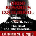Ordo rosarius equilibrio, The Devil & the Universe, Sophia