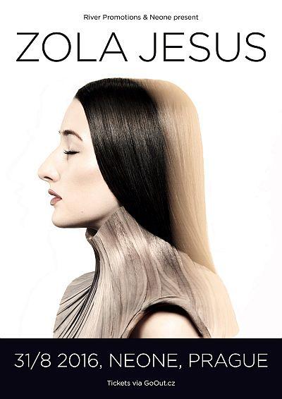 Zola Jesus poster 2016
