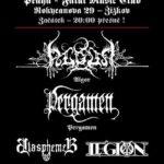 Algor, Pergamen a další zahrají v Praze
