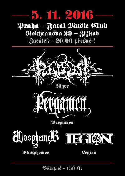 Algor, Pergamen