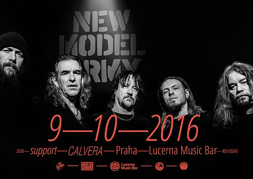 New Model Army poster 2016
