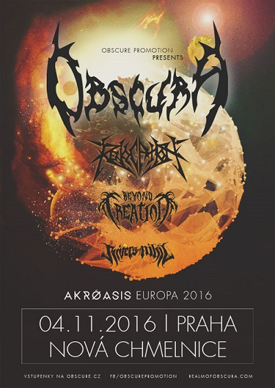 Obscura, Beyond Creation, Revocation, Rivers of Nihil