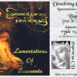 V červnu vyjde pod Pařátem digipacková reedice prvního alba Dissolving of Prodigy