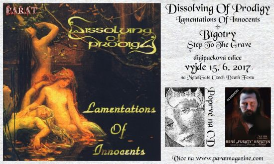 Dissolving of Prodigy - Lamentations of Innocents