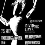 Dividing Lines, Ben Bloodygrave, support + DJs Gothic Pogo