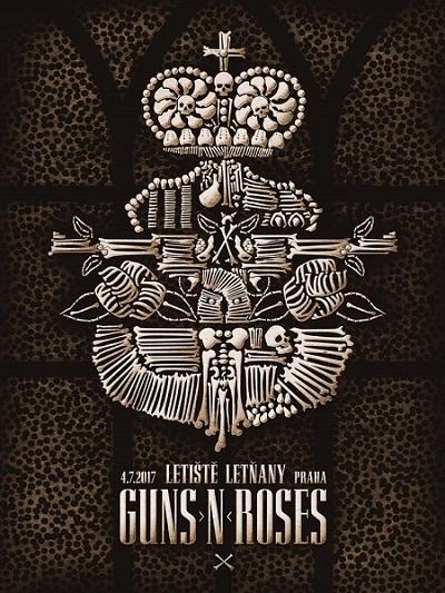 Guns N' Roses poster 2017