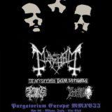 Mayhem, Inferno: Purgatorium Europæ Septentrionalis Tour