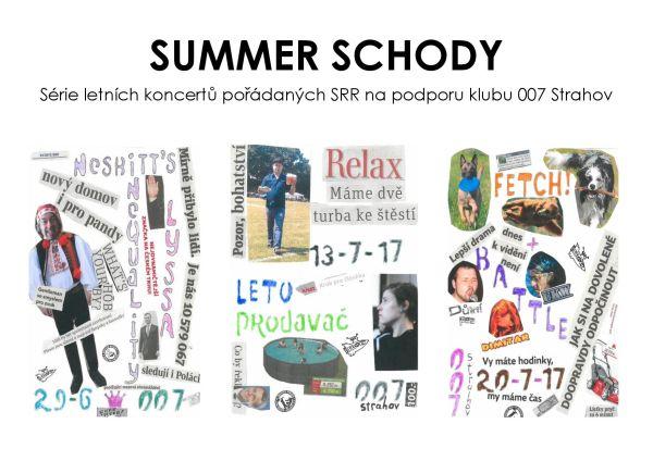Silver Rocket Summer Schody I.-III.