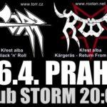 Törr a Root pokřtí nová alba v Praze