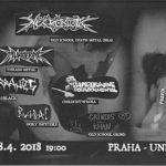 Pravěk – Kruh krve: Necrobiotic (death metal BRA) + support
