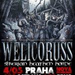 "Welicoruss: křest nového alba ""Siberian Heathen Horde"""