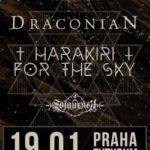 Draconian, Harakiri for the Sky a Sojourner v Praze