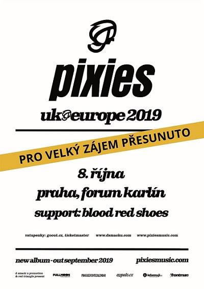 Pixies poster 2019