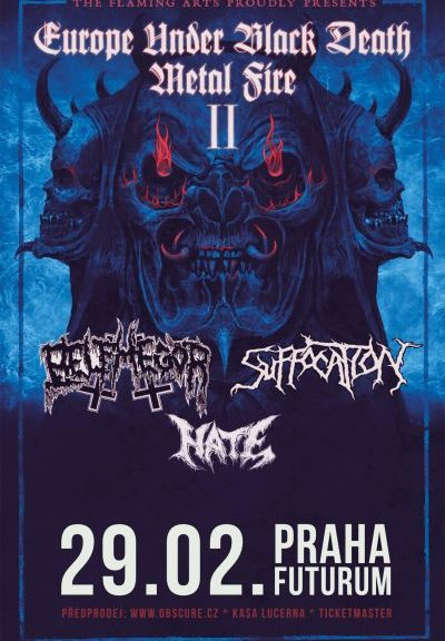 Belphegor, Suffocation, Hate