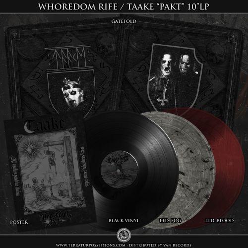 Whoredom Rife / Taake- Pakt
