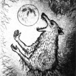 Lycanthropic Winter Moon - Drinking Blood from the Moon's Chalice